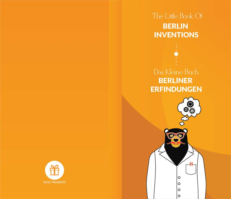 Contest Entry #5 for re Design of a booklet about inventions from the city of Berlin