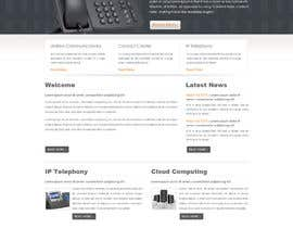 #2 para Website Design for IT company por RaddyxTechnology