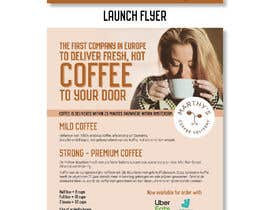 #142 para Brand identity launch flyers for coffee delivery service por dnamalraj