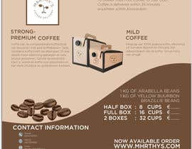 #135 para Brand identity launch flyers for coffee delivery service por mark7425