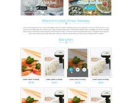 #9 cho Design template for Opencart fast food takeaway website bởi oceanganatra