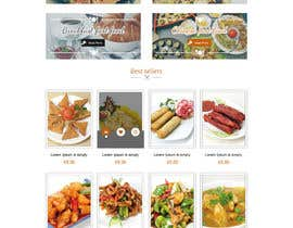 #15 cho Design template for Opencart fast food takeaway website bởi oceanganatra