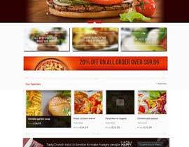 #21 cho Design template for Opencart fast food takeaway website bởi lassoarts