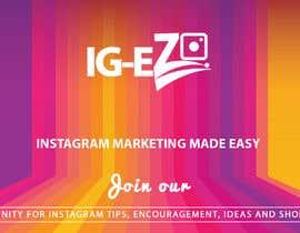 "#18 для Need Facebook Group Cover Photo for ""IG-EZ"" от TINKERSMIND"
