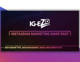 "#5 для Need Facebook Group Cover Photo for ""IG-EZ"" от becretive"
