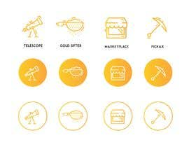 #23 для Design Some Icons for Modern Website with Old Gold Mining Town Theme от babarhossen