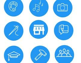 #6 for Require 9 icons in vector format by fmbocetosytrazos