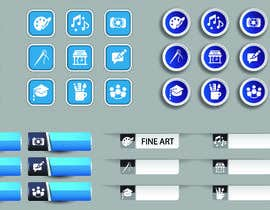 #24 for Require 9 icons in vector format by radiancepub