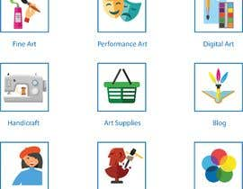 #2 for Require 9 icons in vector format by Grafika79