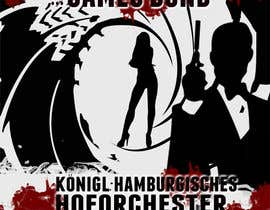 #62 for James Bond Poster Design for Orchestra Concert by lolish22