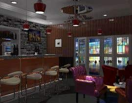nº 1 pour To design interior interior furniture and equipments layout for a restaurant par TMKennedy