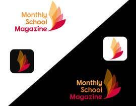 "natterum tarafından Design a Logo for ""monthly school magazine"" için no 11"