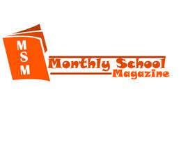 """esetan86 tarafından Design a Logo for """"monthly school magazine"""" için no 6"""