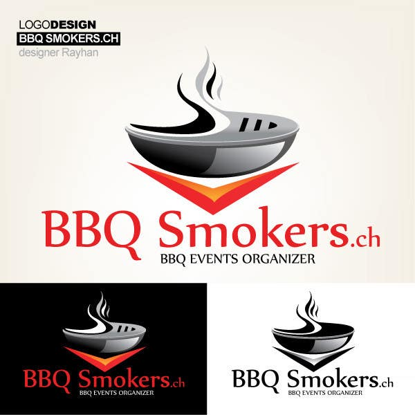Kilpailutyö #218 kilpailussa Logo Design for our new Company: BBQ-Smokers