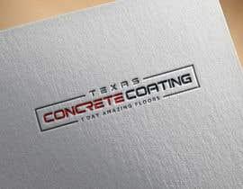#734 untuk Modern Logo for New Concrete Coating Company oleh mdehasan