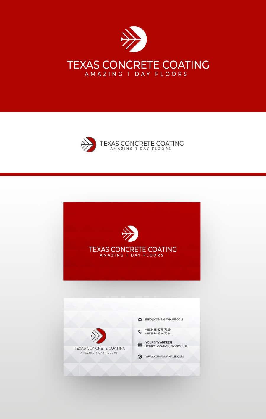 Penyertaan Peraduan #1201 untuk Modern Logo for New Concrete Coating Company
