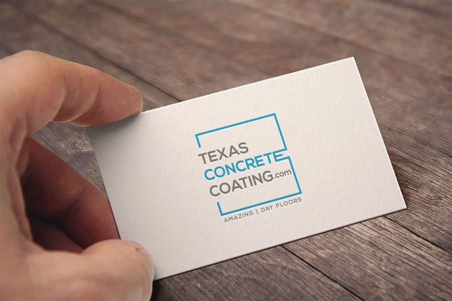Penyertaan Peraduan #1301 untuk Modern Logo for New Concrete Coating Company