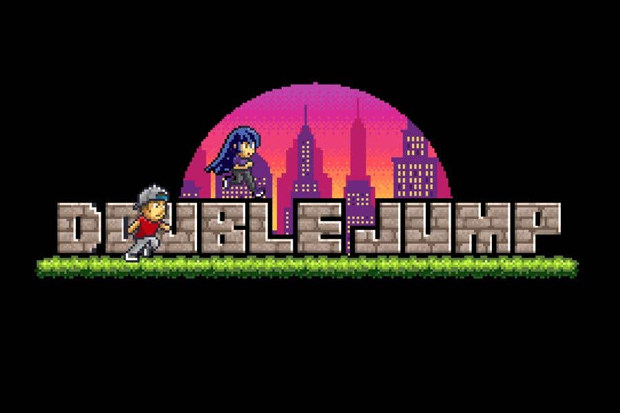 Entry #25 by Mwooo for Animate my 2D pixel art logo - Retro
