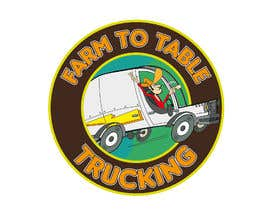 """#16 untuk Logo for """"Farm to Table Trucking"""" to be displayed on a truck and on emails to Chefs oleh josemb49"""