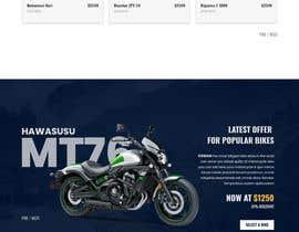 nº 6 pour Build a website design and ui kit for a car dealer website par ArafPlays