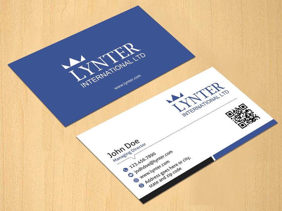 Entry #3 by dinesh0805 for Design some Business Cards for Lynter ...