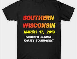 #51 for Tshirt graphic - SWO St Patrick's Classic Karate Tournament by asik01711