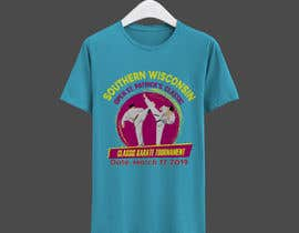 #37 for Tshirt graphic - SWO St Patrick's Classic Karate Tournament by mmhmonju