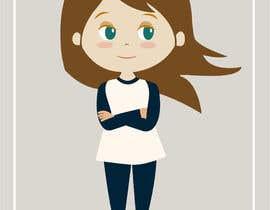 #7 untuk Necesito la ilustración de una chica segura de sí en una pose que transmita fortaleza y determinación oleh renzoyuve