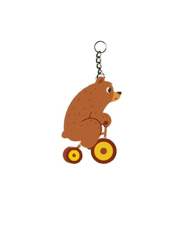 Proposition n°12 du concours Design Keychain for Electric Scooter Brand