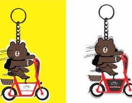 nº 13 pour Design Keychain for Electric Scooter Brand par MZeeshanShahzad