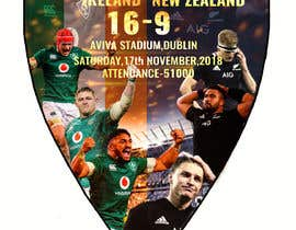 #36 для IRE vs NZ rugby competition poster от sayannandi41