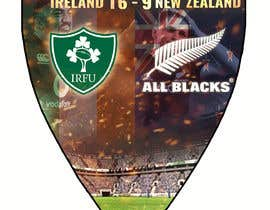 #51 для IRE vs NZ rugby competition poster от sayannandi41
