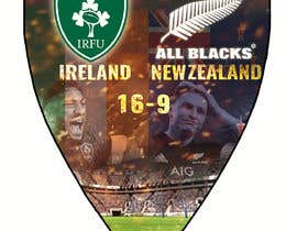 #56 для IRE vs NZ rugby competition poster от sayannandi41