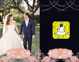 #17 для Design a Snapchat filter for a wedding (Contest #1) от ShadiHesham