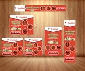 Graphic Design Inscrição do Concurso Nº12 para Design a Banner for website
