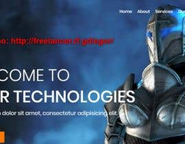 #115 для Design a Tech Company Website от mihrana94