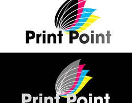 #248 para Logo Design for Print Point de bookwormartist