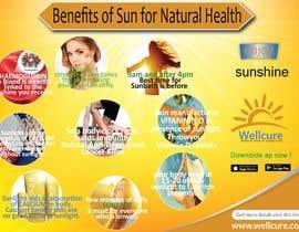 #25 untuk Design a poster - Benefits of Sun for Natural Health oleh saminaakter20209
