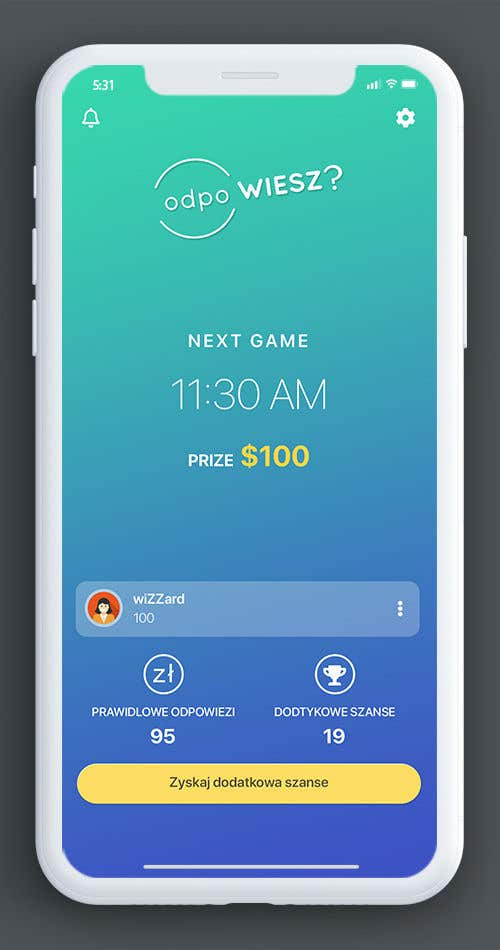Proposition n°2 du concours Redesign App Dashboard