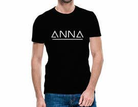 "#56 untuk I need to design a T-shirt carting ""ANNA"" name, am attaching the definition style as an option but you don't have to use it. But you have to use the attached mock-up oleh sajeebhasan409"
