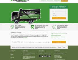 #5 para Wordpress Theme Design for Junk Removal por Pavithranmm