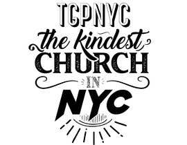 """#3 cho Hey guys! I need some lettering done for the words """"tgpnyc the kindest church in nyc."""" If you need any assistance or help, please refer to the attachment I sent. Thank you! bởi JubairAhamed1"""