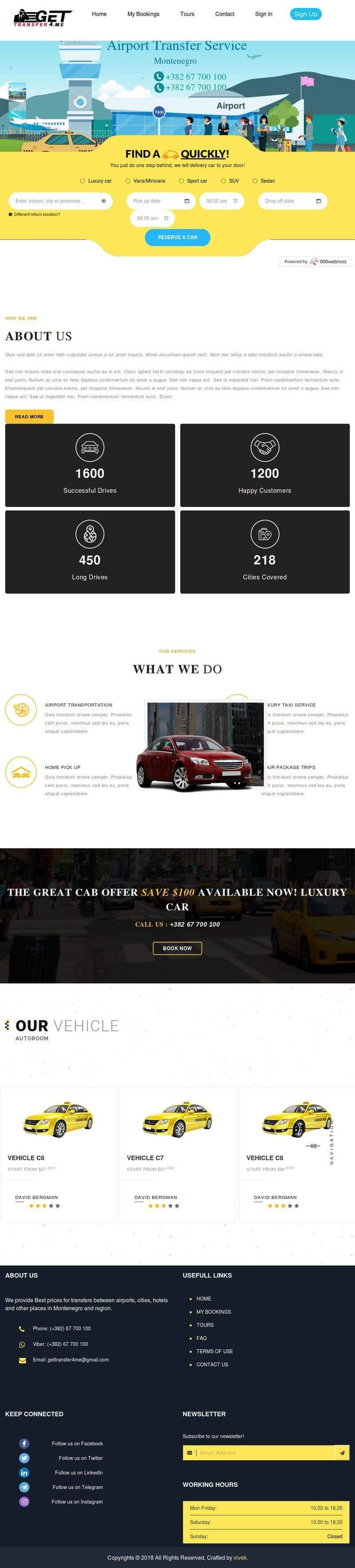 Kilpailutyö #30 kilpailussa Existing website - redesign