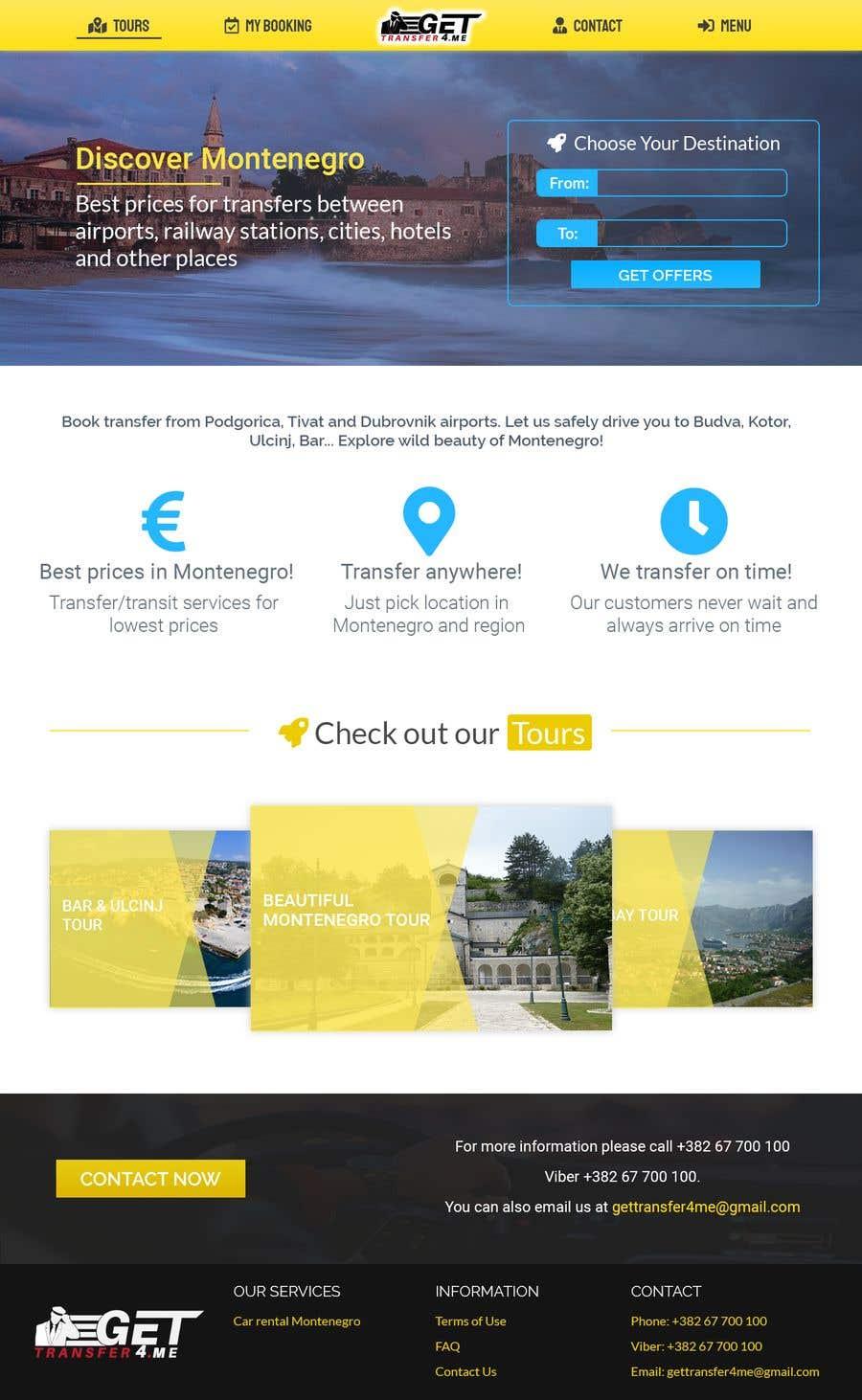 Kilpailutyö #57 kilpailussa Existing website - redesign