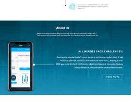 #20 para Design web and mobile app development company website mockup por drima16