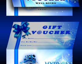 #34 untuk Design of GIFT VOUCHERS : for HYPNOSIS oleh SaranyaKrish