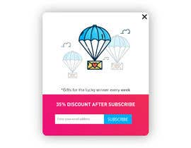 #3 for Website Welcome Popup, Exit Popup, One site Popup and Welcome Push Message Design af bayu015