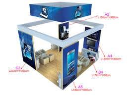 nº 54 pour Design Trade Show Displays/Booth par biswajitgiri