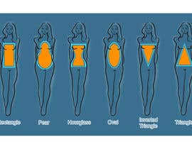 #86 untuk Illustration Design for female body shapes/ types oleh SKTSAO