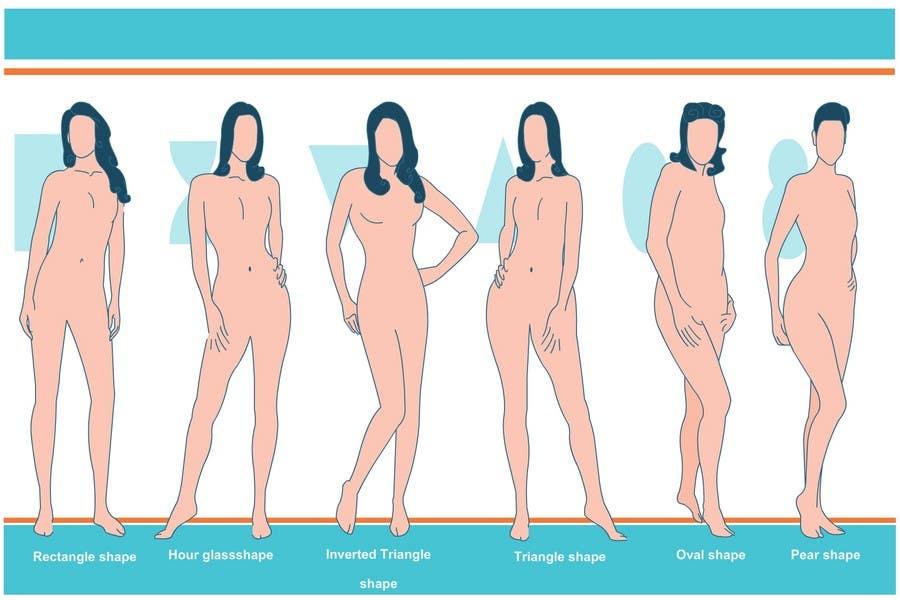 Penyertaan Peraduan #                                        83                                      untuk                                         Illustration Design for female body shapes/ types